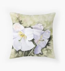 The heart of Inverewe Throw Pillow