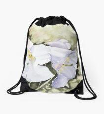 The heart of Inverewe Drawstring Bag