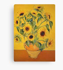 'A Brush with Vincent'.  Canvas Print
