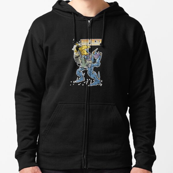 KNOB Tactics - T Shirts and Cases Zipped Hoodie