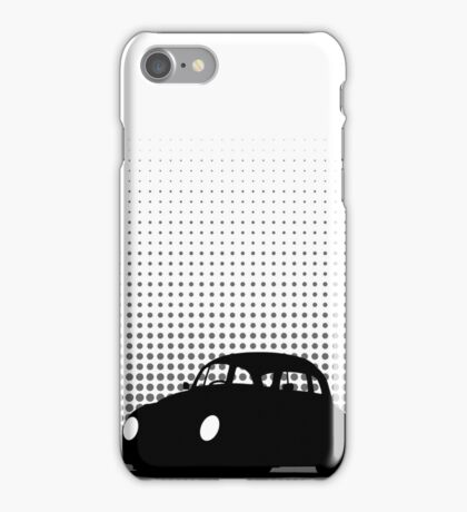 Halftone - VW Beetle iPhone Case/Skin