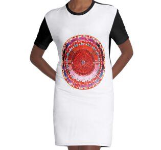 Graphic T-Shirt Dress