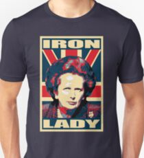 Iron Lady Propaganda Poster Pop Art Unisex T-Shirt
