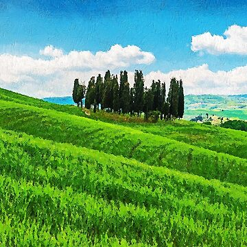 Hills of Tuscany by ErianAndre