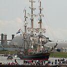 Tallship Delfsail by Minne