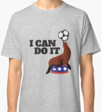 I can do it seal ball practice balance - Gift Idea Classic T-Shirt