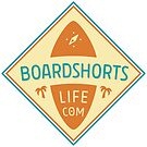Boardshortslife Retro Logo von Boardshortslife
