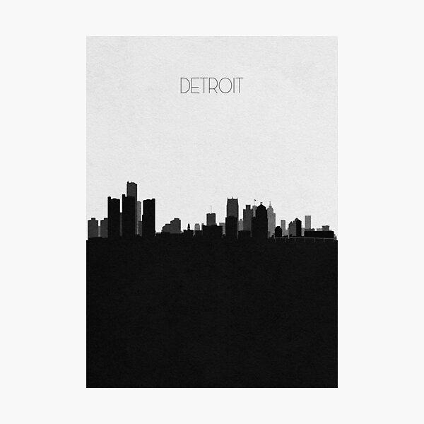 Travel Posters | Destination: Detroit Photographic Print