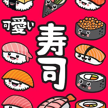 Sushi kawaii by plushism