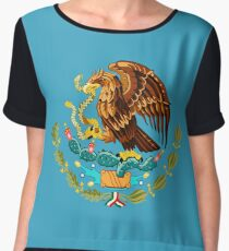 Tenochtitlan Legend of Mexico Chiffon Top