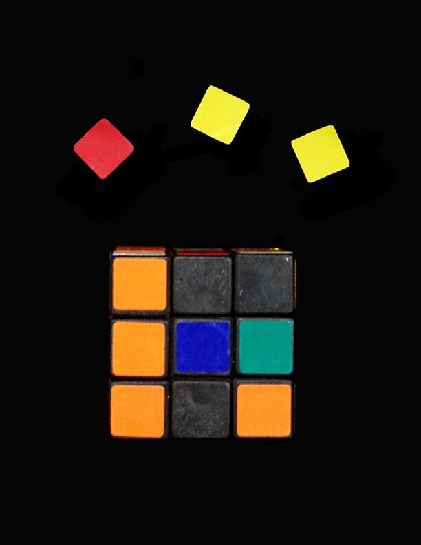 How to Cheat at Rubik's Cube by Barbara Morrison