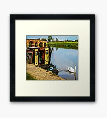 Riverside Serenity Framed Print