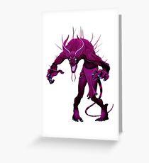 Demon series 04 Greeting Card