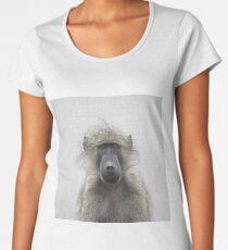 Baboon - Colorful Women's Premium T-Shirt