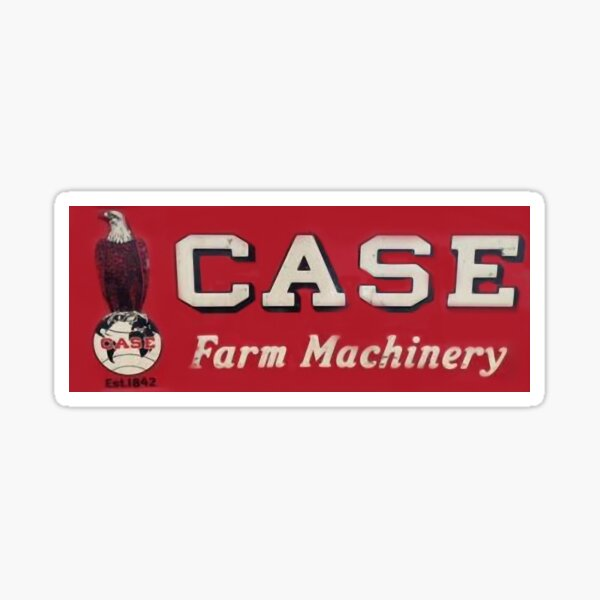 CASE Farm Machinery Vintage  Case Eagle Old Abe Sticker