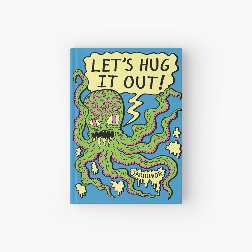 Lets Hug It Out Hardcover Journal