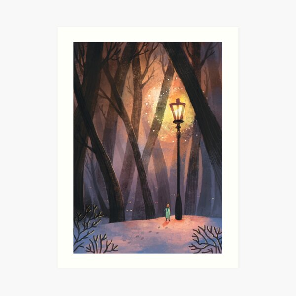 The Lion, The Witch and The Wardrobe Art Print