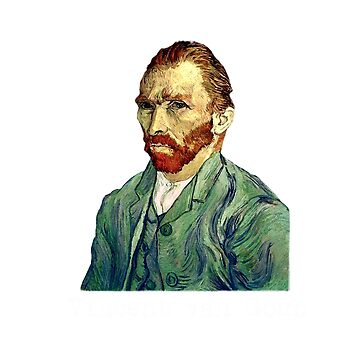 Vincent Van Gogh art tshirt by SOpunk
