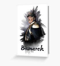 Otto von Bismarck, 1894 colorized Greeting Card