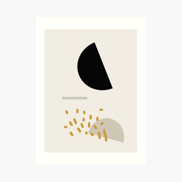 Modern Minimal Abstract Art Print