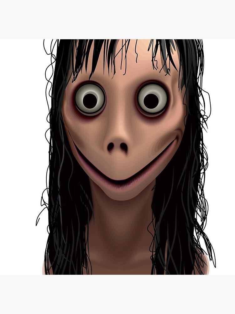 Momo. Demon of Whatsapp.  by Jull-gull