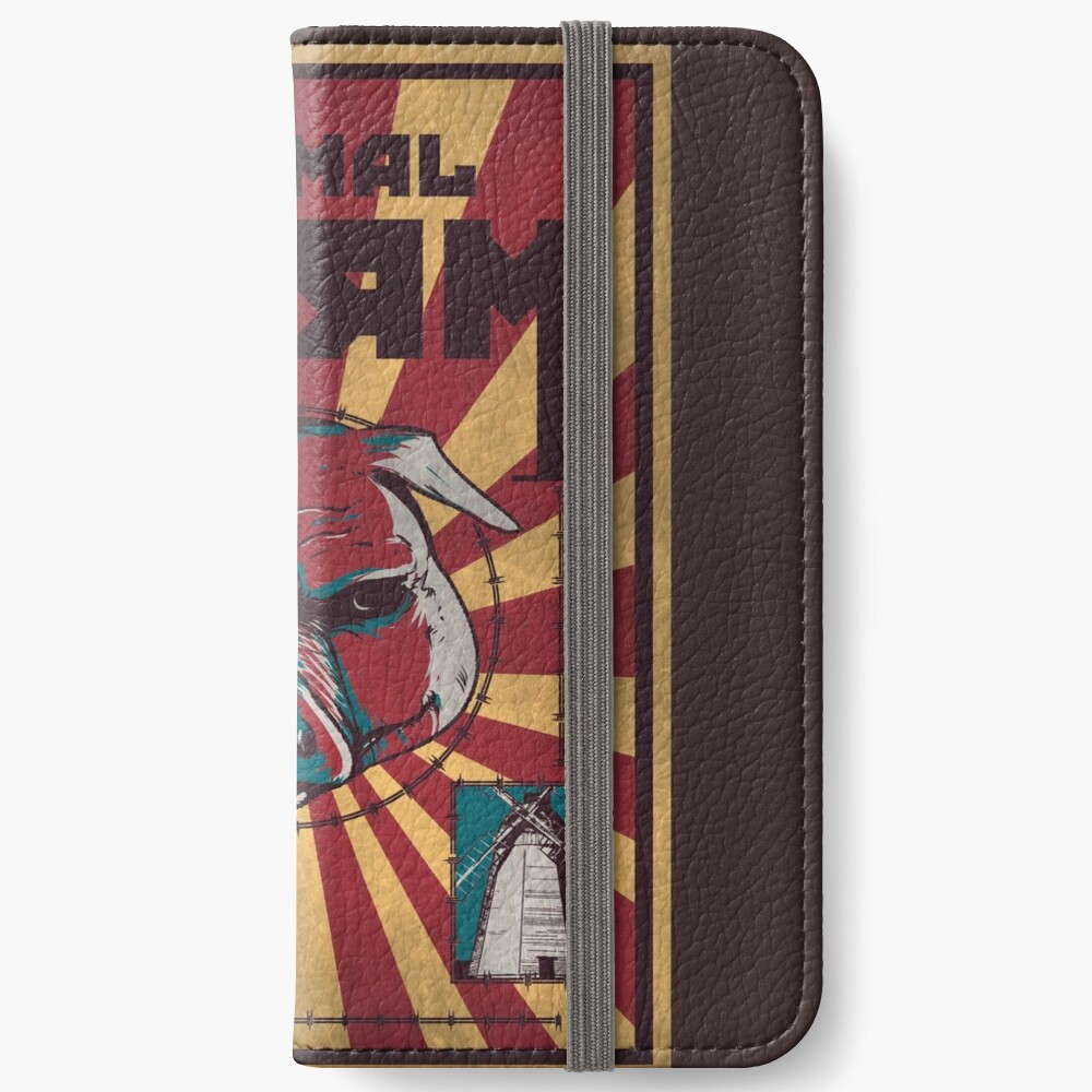 Animalismus iPhone Flip-Case
