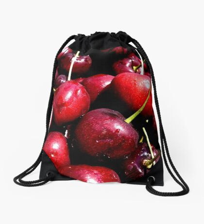 Cherries (available in ipad) Drawstring Bag