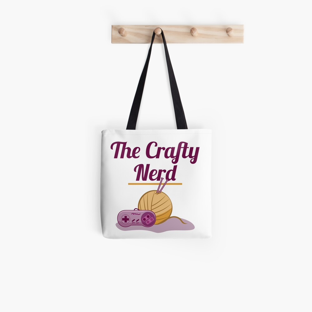 The Crafty Nerd Tote Bag