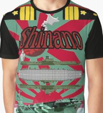 Japanese aircraft carrier Graphic T-Shirt