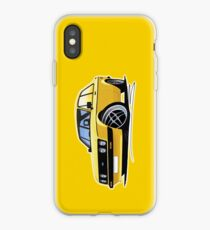 Ford Escort (Mk2) RS2000 Yellow iPhone Case