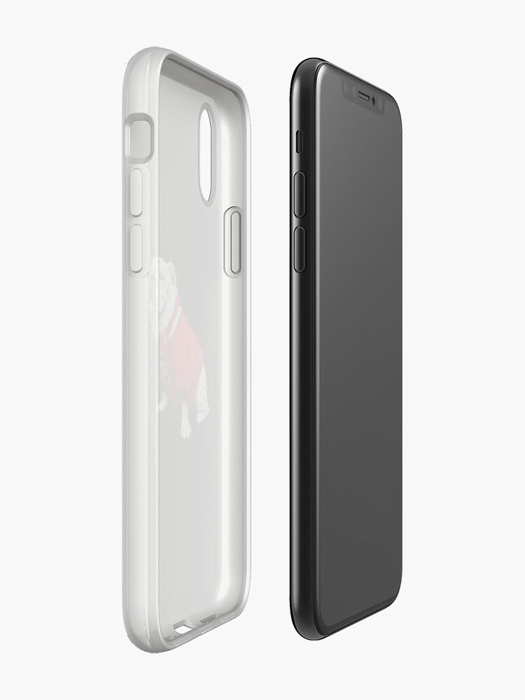 Vista alternativa de Vinilos y fundas para iPhone Bulldog UGA