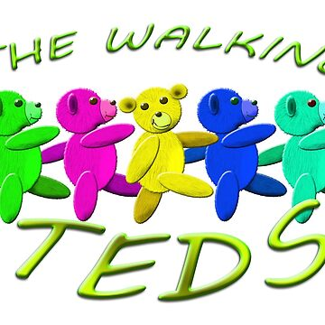 the walking teds by gruntpig