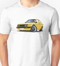 Ford Escort (Mk2) RS2000 Yellow T-Shirt