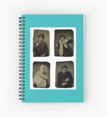 Many faces of an actor Spiral Notebook