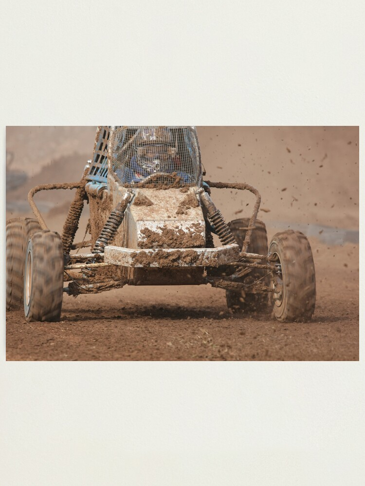 Alternate view of Mud Slinger Photographic Print