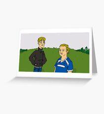 Kerry and Kurtan Greeting Card