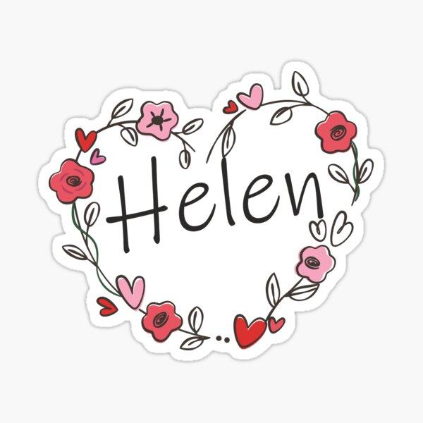 My name is Helen Sticker
