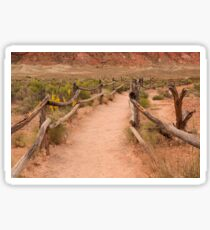 One Hike To Delicate Arch - 1 © Sticker