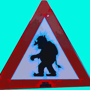 Trolls Danger by painterfrank