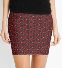 Autumnal Red Mini Skirt