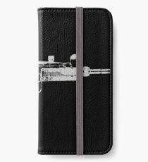 Uzi 9MM Submachine Gun Machine Pistol Distressed Design iPhone Wallet/Case/Skin