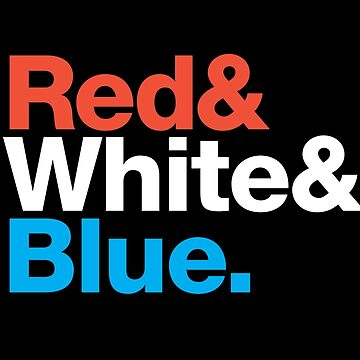 America Pride - Red & White & Blue by simplyhomelife