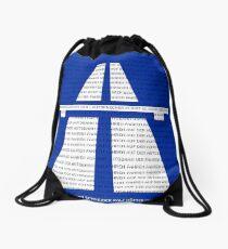 Autobahn Drawstring Bag