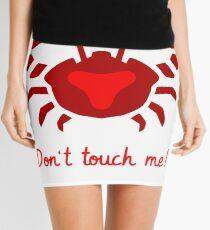 Do not touch - cancer Mini Skirt