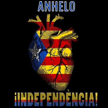Catalonia independence in the heart by francodelgrando