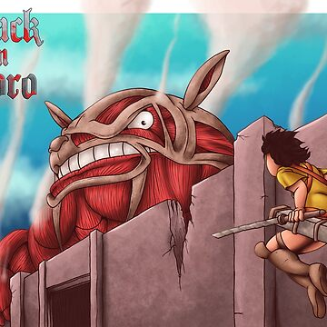 Attack on Totoro by ianablakeman