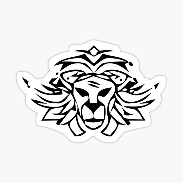 Lion Zion Sticker