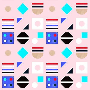 fun and modern geometry- pattern 1 by ShowMeMars