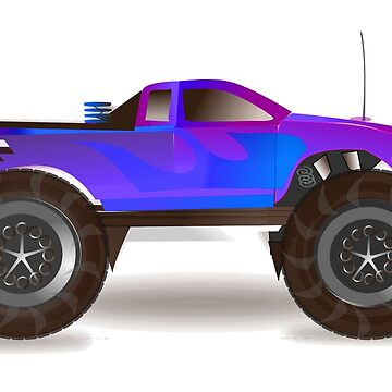 MONSTER TRUCK by TOMSREDBUBBLE