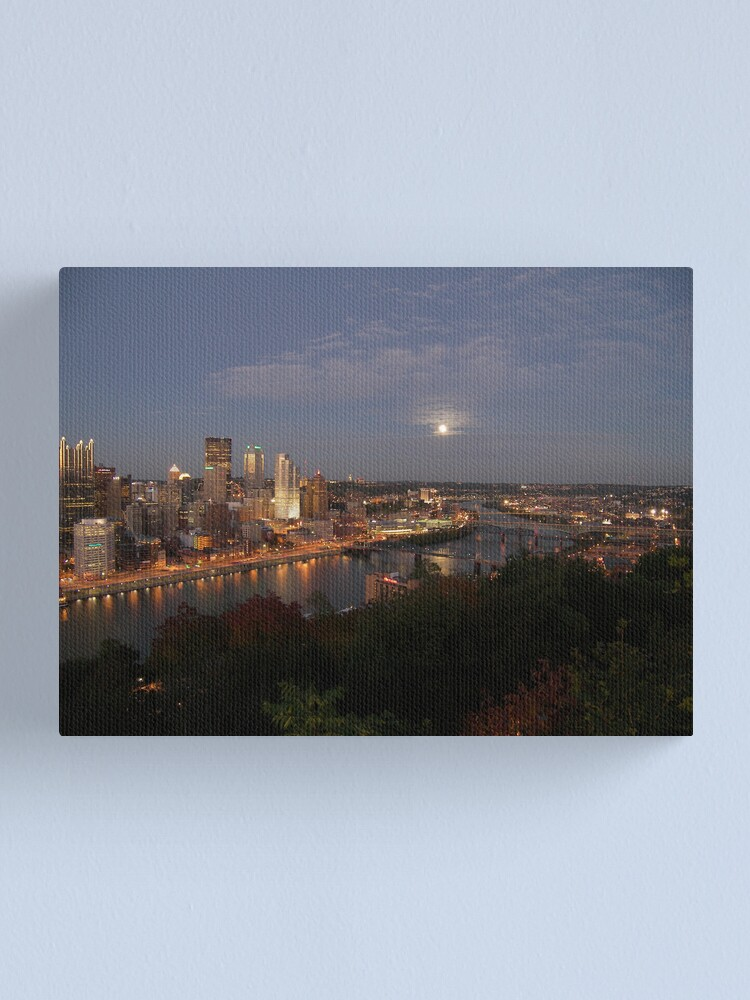 Alternate view of Pittsburgh Canvas Print